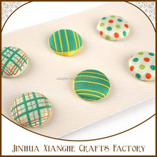 Arts and Crafts Fabric Covered Buttons Love Scrapbook