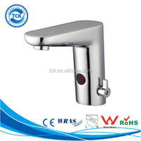 China hardware fittings brass automatic toilet&bathroom mixer faucet