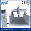 CE Certificate China mold used mattress Automatic engraving wood Plastic PVC Foam Board Cutting CNC Router Machinery