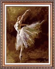 bullet girl white swan diy diamond painting