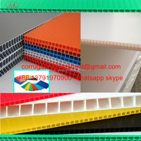 3mm 4mm corrugated polypropylene plastic corriboard