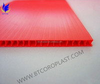 Best price for waterproof and recyclable pp corrugated plastic pallet sheet