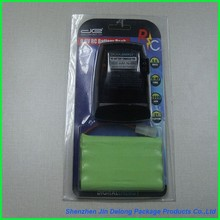 Mobile phone case retail packaging ,cell phone case plastic packaging box