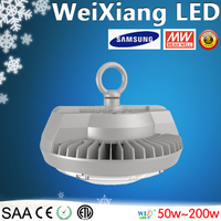 Weixiang newest industrial led high bay lamp 200w IP65 Meanwell driver Hook/Ceiling/Wall mount type led low bay with good price