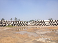 steel reinforced concrete pipe making machine,concrete coated steel pipe,Large diameter concrete pipe