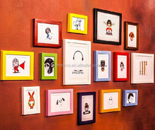 Small Picture Photo Frames/ Colored Wood Picture Frames