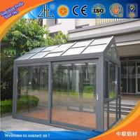 BEST! OEM recycled aluminium extrusion profile supplier 6063 aluminium extrusion greenhouse