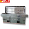 factory direct sales aluminum hunting large lined dog compartments double transport and containment dog boxes