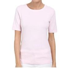 Wholesale Cotton-blend Custom White T-shirt Women