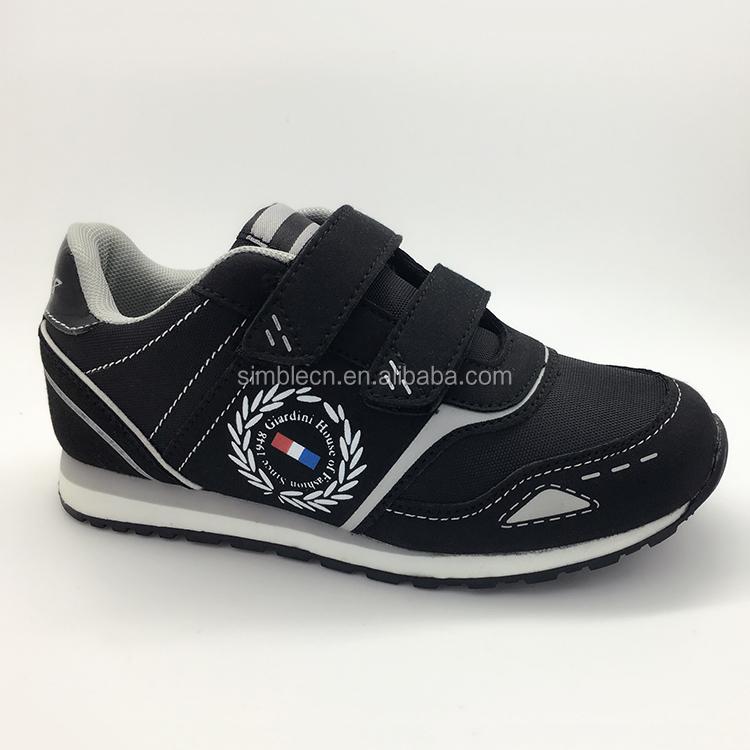 Gros fantaisie design de haute qualité enfants garçons boucle sangle sport chaussures de course