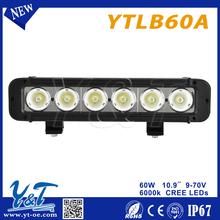 News Auto led light bar 36w 72w 144w 180w 252w 10-32V 1 year warranty IP67 led bar light for off road bar led Lights
