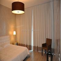 2014 latest design Fire retardant used blackout hotel curtains