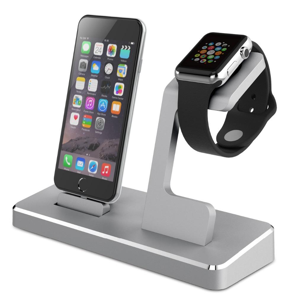 mfi power station charging docking for iphone mfi aluminum apple