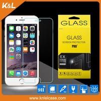 high quality great price holographic screen protectorfor iphone6 tempered glass screen protector