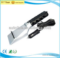 High quality 12V heating auto cheap snow brush ice scraper with LED light