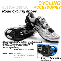 Custom design carbon and nylon fiberglass Sports bicycle Race professional Road Cycling Shoes
