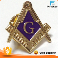 Square and Compass Cut Out Masonic Freemason Forget Me Not lapel Pin Badge wholesale masonic items