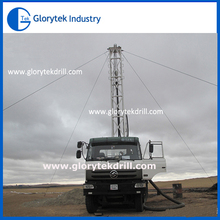 Excelente rendimiento camión montado perforación de pozos de agua rigs venta