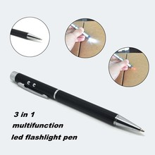 (1500389) Promotion Cheap Hot New Product Office Supplier LED Metal PPT Laser Pen