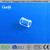High quality high working temperature small precision bore glass tubing