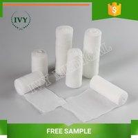 Top quality hot selling hospital gauze bandage with cutting edge