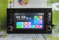 7'' 2Din Special Car DVD Player for Audi A4 with newest Win 8 UI DJ7078