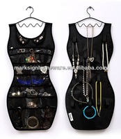 Dress Shape Hanging Jewelry Organizer