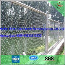 Basketball Tennis Court PVC Coated Chain Link Fence Netting