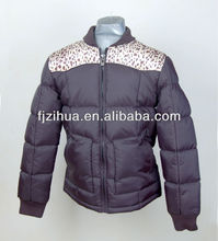Special design printed men's down jacket