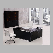 Hot sale and excellent quality glass top office desk