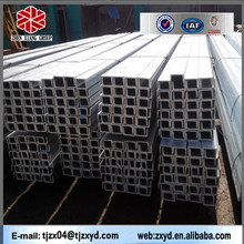 bs channel with AISI, ASTM, BS, DIN, GB, JIS standard for building construction