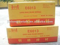 golden bridge welding electrode /jinqiao welding electrode 6013 7018