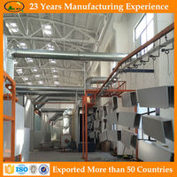 Cheap price cabinet electrostatic powder coating manufacturers