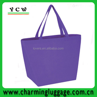 customised purple shopping bags