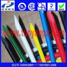 silicone fiberglass tube pipe sleeve
