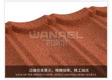 Bond Wanael anti-ultravioleta impactos de piedra revestida precio láminas del techo por hoja