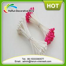 HR manufacturer Pearlized /matte rose flower stamen for cake