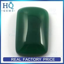 Green nature cobochon agate for gem stone pendant