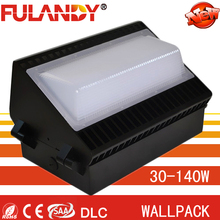 UL Cree&meanwell 40w 60w 80w 100w 120w 150w AC90-305V/180-480v IP65 outdoor led wallpacks with IES.file and dialux simulation