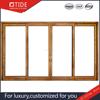 Aluminum and wooden heavy sliding door,best building materials with German ROTO hardware