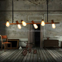 Vintage industrial pendant lamp, Vintage led pendant lamp from American