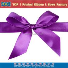 100% Polyester satin ribbon pre-made bows
