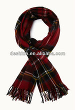 2013 wholesale new rustic plaid scarf WJ-062