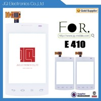 Low Cost mobile phone touch screen digitizer glass panel For LG E410