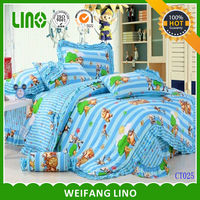 100% cotton pattern printed Tomy and jerri bedding