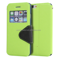 2015 hot sell TPU+ leather Fashion Contrast color leather phone case CO-LTC-1024