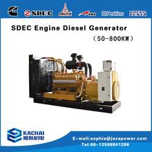 Zhejiang shangchai engine with Diesel power generator micro 80kva diesel generator price