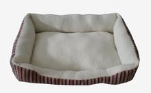 Warm comfortable fleece printed dogs pet bed mat