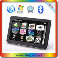 """High Definition 7"""" car gps maps for windows ce sd card touch screen with Bluetooth,hands free car kit,back up camera"""
