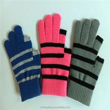 2015 Winter warm five fingers gloves